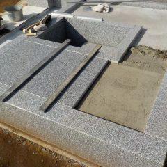 S家墓地工事4
