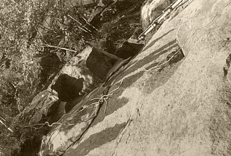 七沢石 石切場